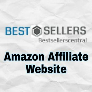 Amazon Affiliate Starter Website Best Sellers Niche