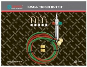 Gentec Small Torch Basic Kit For Oxy acetylene Sol 225 00 Gas Welding Cutting