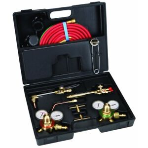 Oxy Acetylene Gas Welding Cutting Torch Kit Victor Professional Set Kits Welders