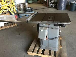 Rockwell 10 Unisaw 36 X 27 Table Saw 230 460v 3ph 5hp 34 466