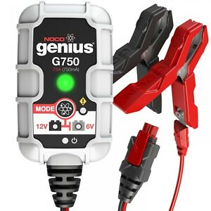 Noco Genius G750 6 12 Volt 75 Amp Ultrasafe Battery Charger