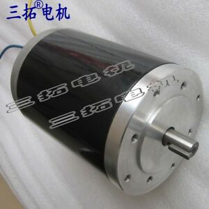 R114165 Dc 12 24 36v 1800 3800rpm Brush Dc Motor High Power Large Torque Motor