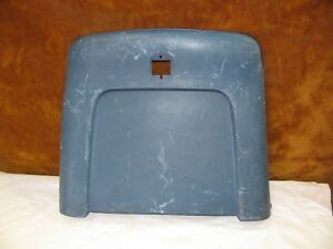1969 72 A body Chevelle Gto 442 Gs Front Bucket Seats Back Plastic Blue