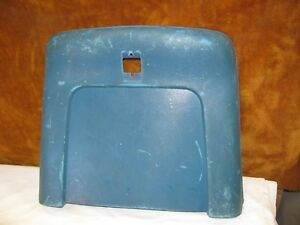 1969 72 A Body Chevelle Gto 442 Gs Front Bucket Seats Back Plastic Blue B