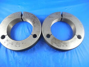 3 12 Ns Thread Ring Gages 3 0 Go No Go P d s 2 9450 2 9420 Tooling Tool
