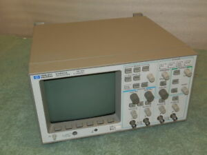 Hp 54601a Oscilloscope 4 Channel 100 Mhz With 54657a Module