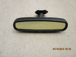 96 00 Chrysler Sebring Convertible Auto Dim Map Light Rear View Rearview Mirror