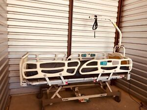 Stryker Fl20e Electric Hospital Bed With Patient Helper