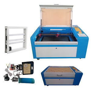 50w Co2 Laser Engraver Cutter Machine Usb Port Up down Table 300x500mm Cutter