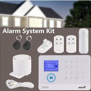2018 Wireless Wifi 2g Gsm Diy Smart App Home Thief Security Alarm System Kits To