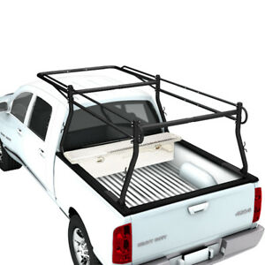 Adjustable Pickup Truck Utility Ladder Rack Universal Canoe Lumber Carrier Kayak