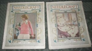 2 May 1923 And June 1923 Publications Needlecraft