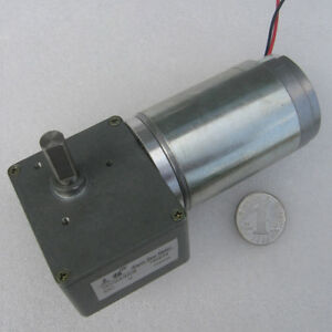 Gw4468 Worm Gear Motor Dc12v 24v 80 200rpm High Speed Dc Gear Motor With Gearbox