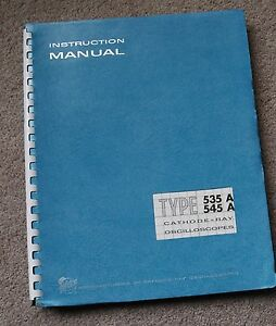 Tektronix Type 535a 545a Service Manual All Schematic Parts 070 145 070 163