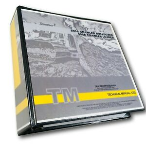 John Deere 550a 555a Crawler Bulldozer Loader Technical Service Repair Manual