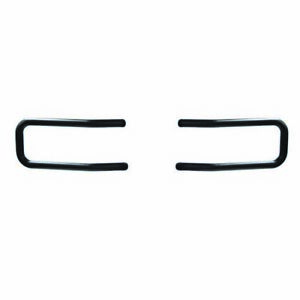 Mile Marker 50 26736 Brush Guard Black Pair For 2014 2017 Chevy Silverado 1500