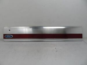 1987 1996 Ford Bronco Rear Trunk Tailgate Tail Gate Lid Trim Red Reflector