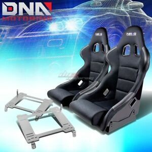 Nrg Type r Deep Bucket Racing Seat full Stainless Bracket For 05 Gt500 Mustang