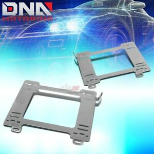 Nrg For 99 05 Miata Mx5 Stainless Steel Racing Seat Mounting Bracket Rail Track