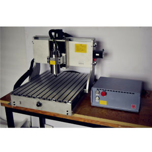3 Axis Diy Cnc Router Machine With Laser Engraving Pcb Milling Wood Carving New
