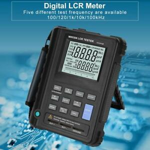 Ms5308 Handheld Digital Lcr Meter 100khz Inductance Resistance Capacitance Test