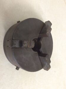Af Cushman 3 Jaw Lathe Chuck 6 Diameter Model 142 Scroll Type Southbend Atlas