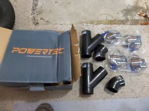 Powertec Dust Collection Collector System Parts Lot 70133 70127 70179 Etc