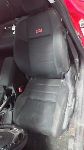 12 Honda Civic Cpe Si Seats Set W door Panels And Center Consol see Notes