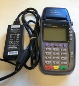 Verifone Vx 570 Credit Card Reader terminal With Adapter