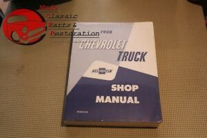 Chevy Pickup 1958 Truck Shop Manual