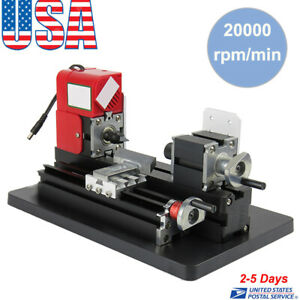 Mini Lathe Machine Saw Mini Combined Machine Tool Diy Wood Material 20000rpm min
