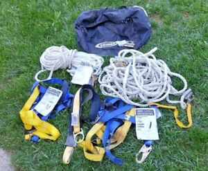 Werner Upgear Lifeline System Ropes Safety Harness Accessories
