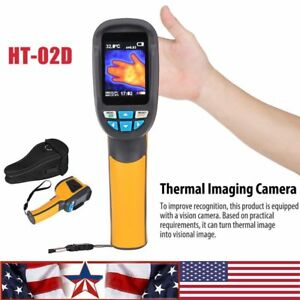 Ht 02d Handheld Thermal Imaging Camera Thermal Imager Ir Infrared Thermometer Ej