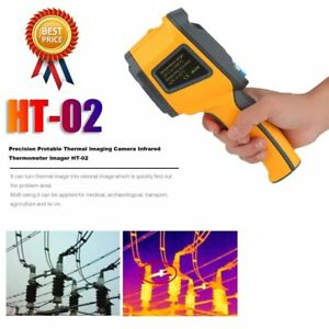 Precision Prot Able Thermal Imaging Camera Infrared Thermometer Imager Ht 02 Ej