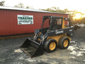 2012 John Deere 318d Skid Steer Loader
