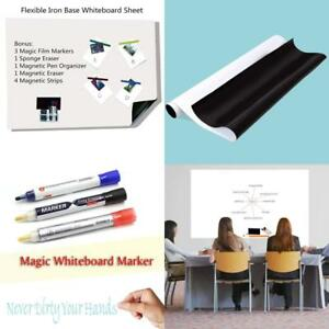 Bieco 48 X 36 Dry Erase Adhesive Magnet Receivable Wall Whiteboard Sheet