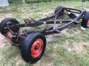 1957 Corvette Rolling Chassis Frame Project Car 57 Vette