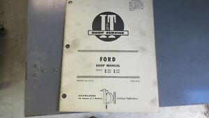 Ford 8000 8600 9000 9600 Tractor Shop Manual I t fo 32