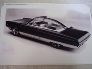 1965 Plymouth Fury Vip Factory Show Car 11 X 17 Photo Picture
