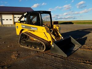 2005 John Deere Ct322 Compact Rubber Tracked Loader Diesel Engine Hydraulic Q c