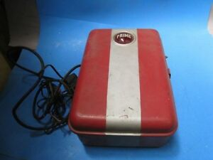 Rare Vintage 1939 Prime Electric Fence Controller Box Md 670 Art Deco 03c4