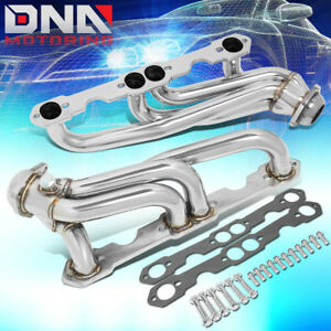 J2 For 1988 1999 Chevy gmc C k Stainless Steel Shorty Exhaust Manifold Header