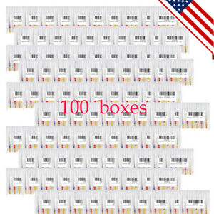 100pack Dental Rotary Niti Files For Endonontic Root Canal 25mm Sx f3 Engine Usa