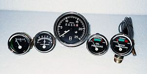 Massey Ferguson Gauge Kit And Tachometer Mf35 Mf50 Mf65 Mf135 Mf150