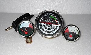 John Deere Tractor Tachometer Temperature Fuel Gauge Set 1010 2010