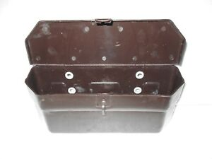 Plastic Made Universal Tool Box Unit Massey Ferguson Ford Tractors Dark Brown