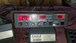 Kustom Signals Golden Eagle Directional Police Radar Gun Fastest Same Lane