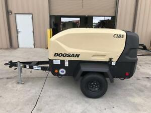 185cfm New Surplus 2018 Doosan C185wd0 t4f Portable Diesel Air Compressor