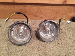 Orignal 1966 Plymouth 66 Satellite Belvedere Park Turn Signal Light Assembly Set