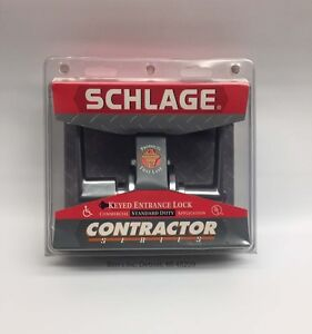 Schlage Keyed Entrance Lock Contractor Series Commercial Application